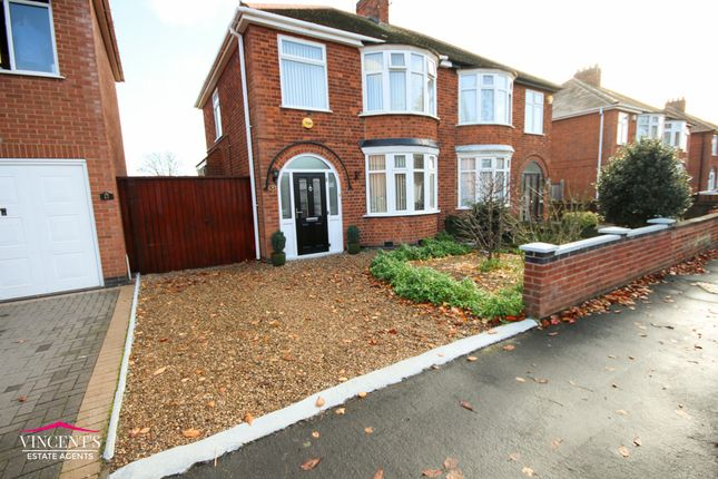 Thumbnail Semi-detached house for sale in Acres Road, Leicester Forest East, Leicester