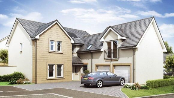 Thumbnail Detached house for sale in Calder Glade Calderpark, Carronhall Drive, Uddingston, Glasgow