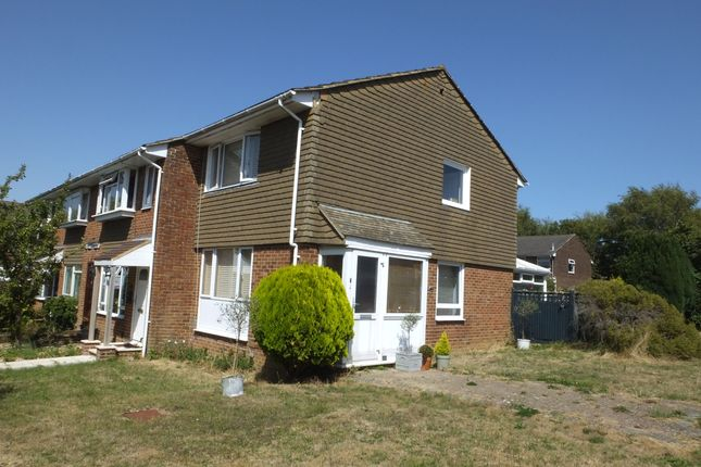 Thumbnail End terrace house to rent in Godfrey Close, Lewes