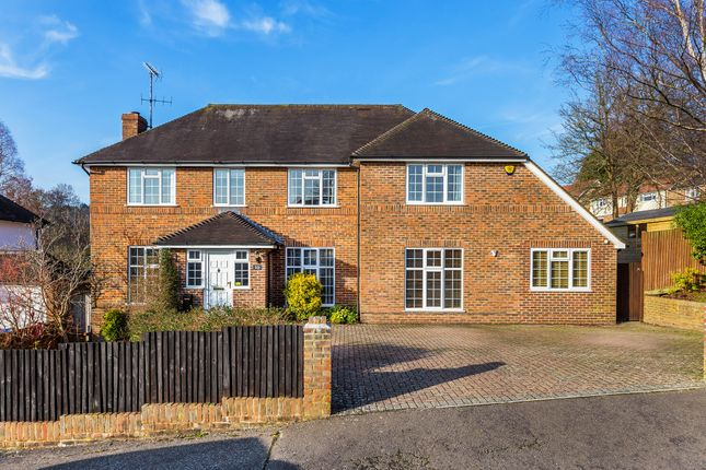 Thumbnail Detached house for sale in Nightingale Close, East Grinstead, West Sussex