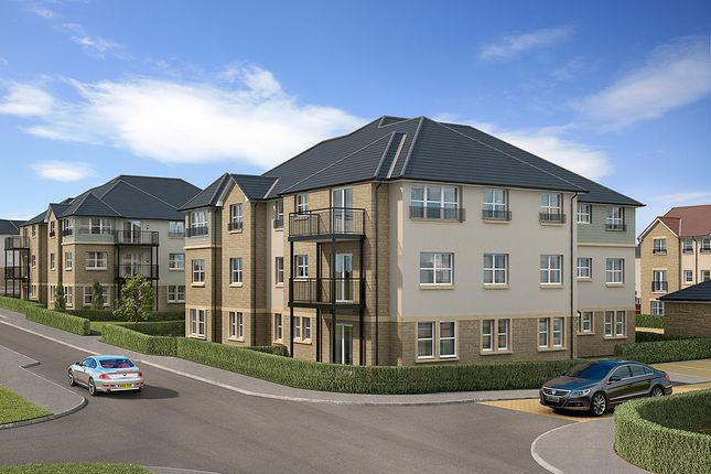 "Thumbnail Flat for sale in ""Baird"" at Letham Views, 9 Holme Avenue, Haddington"