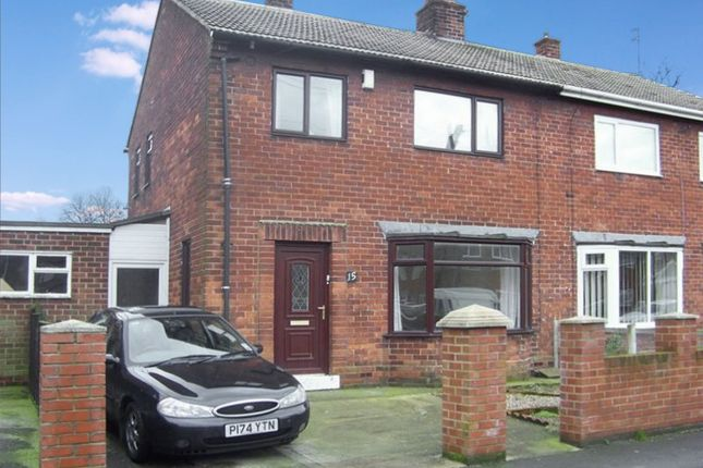 Thumbnail Semi-detached house for sale in Passfield Square, Thornley, Durham