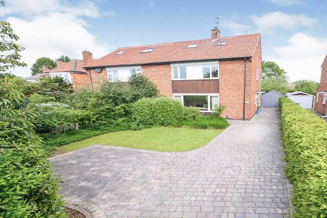 Thumbnail Semi-detached house for sale in Straylands Grove, York