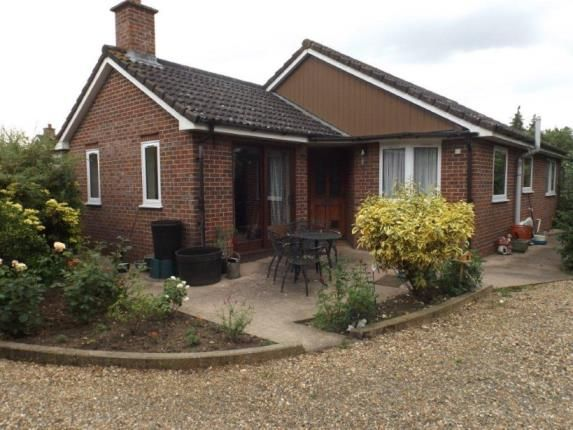 Thumbnail Bungalow for sale in Ashwellthorpe, Norwich, Norfolk