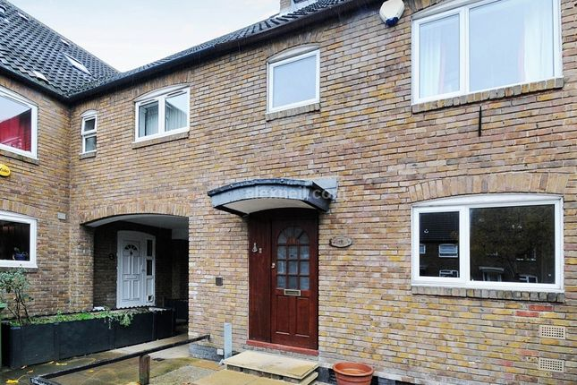 Thumbnail End terrace house to rent in Redwood Close, London