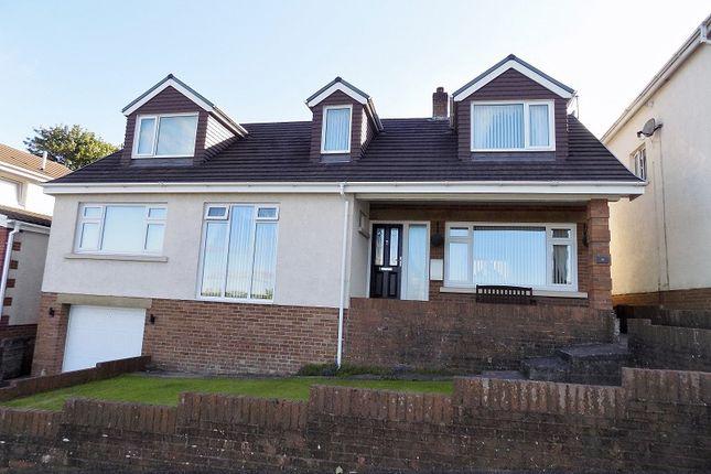 Thumbnail Detached house for sale in Pascoes Avenue, Cefn Glas, Bridgend.