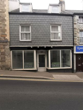 Studio for sale in Fore Street, Camelford PL32