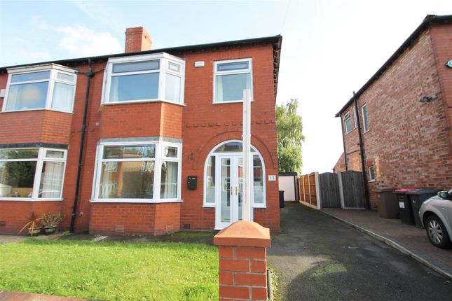 Thumbnail Semi-detached house to rent in Maldon Drive, Eccles, Manchester