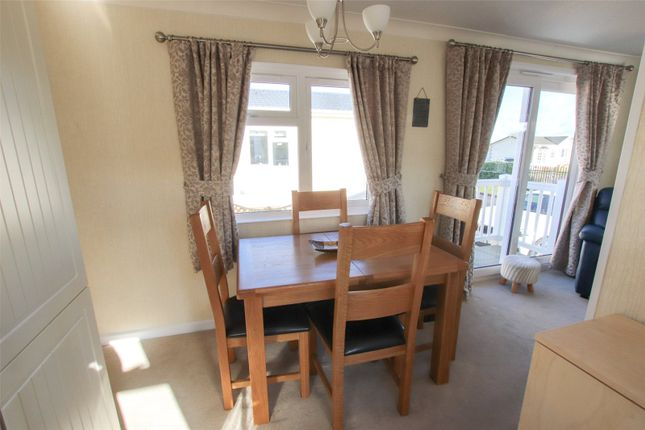 Dining Area of Plot 98, Barton Broads Park, Maltkiln Road, Barton-Upon-Humber, North Lincolnshire DN18