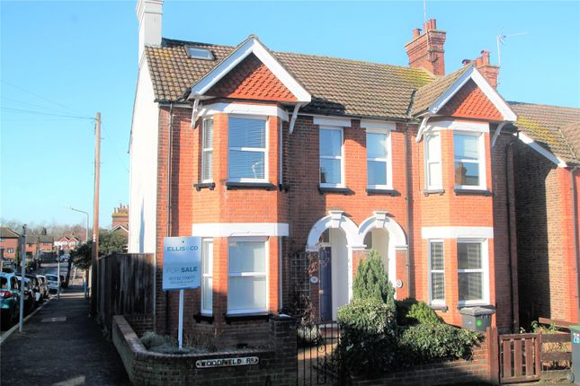 Thumbnail Semi-detached house for sale in Woodfield Road, Tonbridge, Kent