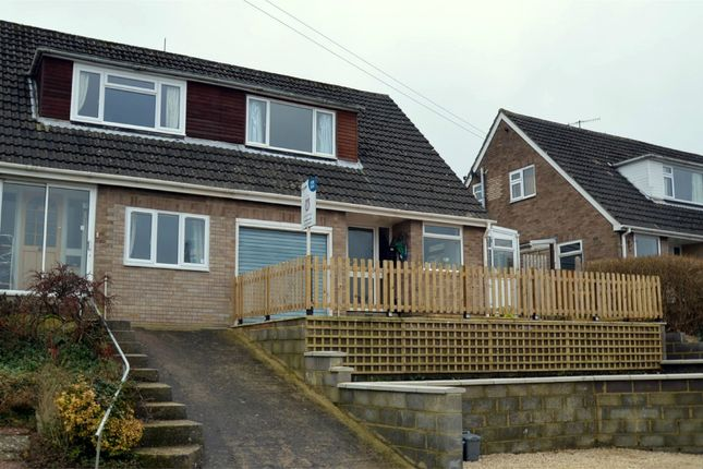 Thumbnail Semi-detached house for sale in Castlemead Road, Rodborough, Stroud, Gloucestershire