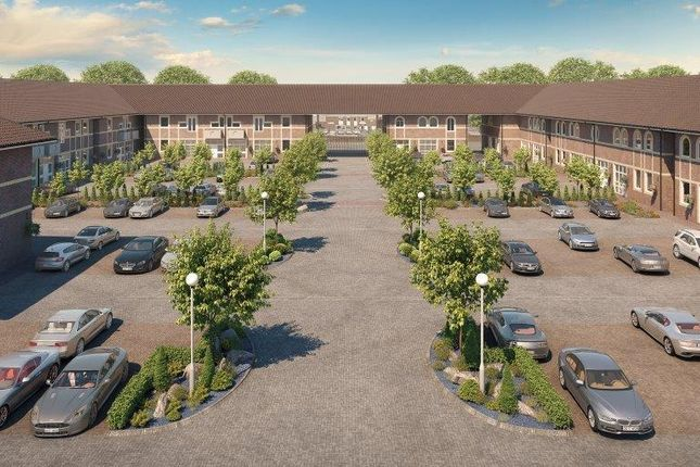 Thumbnail Flat for sale in Gatehouse Way, Aylesbury