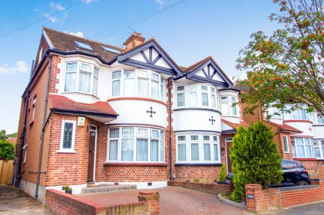 Thumbnail Semi-detached house for sale in Brendon Way, Enfield, London