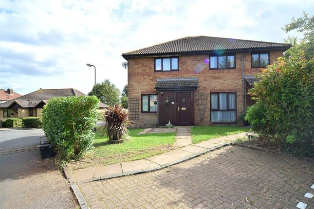 Thumbnail Semi-detached house for sale in Camberley Close, North Cheam