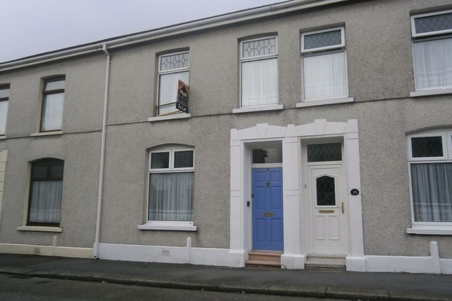 Thumbnail Terraced house to rent in Greenway Street, Llanelli