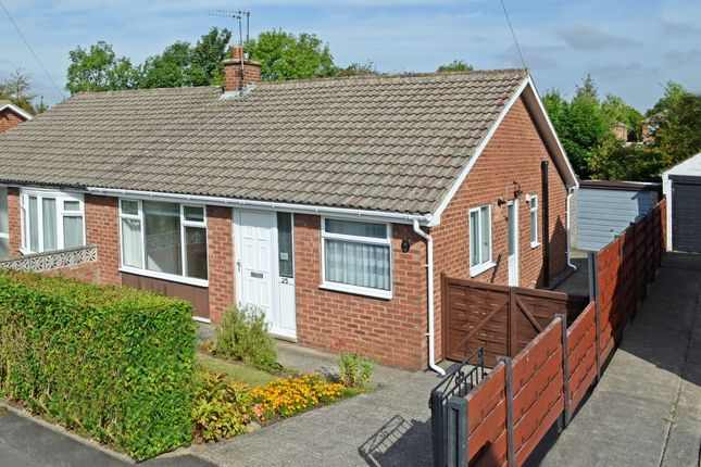 Thumbnail Semi-detached bungalow to rent in Furness Drive, York
