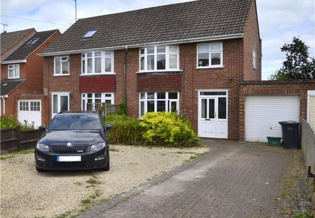 Thumbnail Semi-detached house for sale in Lynmouth Road, Hucclecote, Gloucester