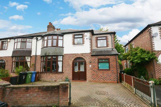 Thumbnail Semi-detached house for sale in Carlton Drive, Gatley, Cheadle
