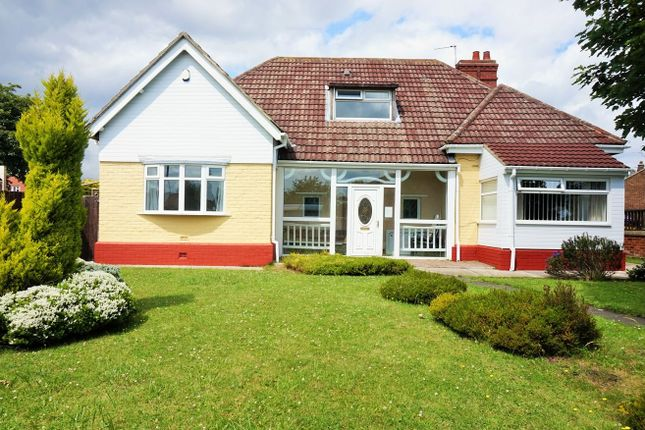 Thumbnail Detached bungalow for sale in Gillas Lane, Houghton Le Spring
