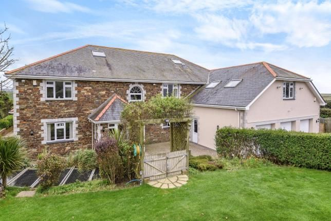 Thumbnail Detached house for sale in Crantock, Cornwall