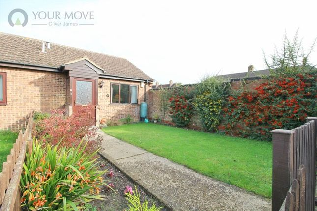 Thumbnail Bungalow for sale in Russet Close, Beccles
