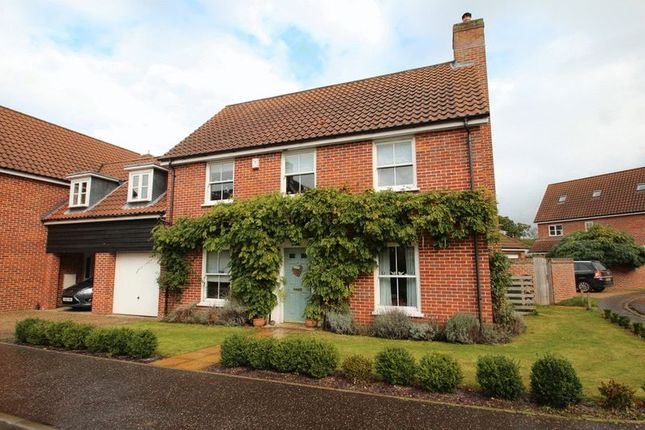 Thumbnail Link-detached house for sale in Bromedale Avenue, Mulbarton, Norwich