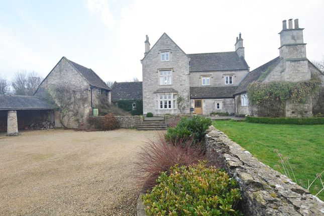 Thumbnail Farmhouse for sale in Upper North Wraxall, Wiltshire