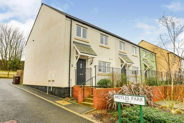 3 bed end terrace house for sale in Moyles Park, Modbury, Ivybridge PL21