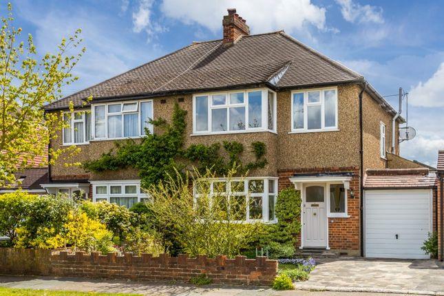 Thumbnail Semi-detached house for sale in Beechcroft Avenue, New Malden, Surrey