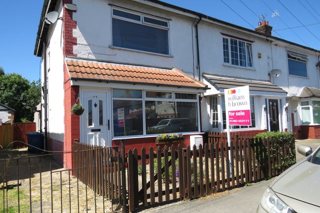Thumbnail End terrace house for sale in Spring Gardens, Anlaby Common, Hull