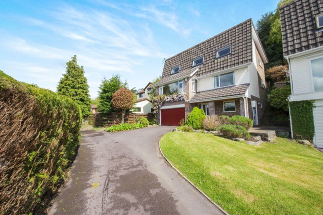 Thumbnail Detached house for sale in Royal Oak Close, Machen, Caerphilly