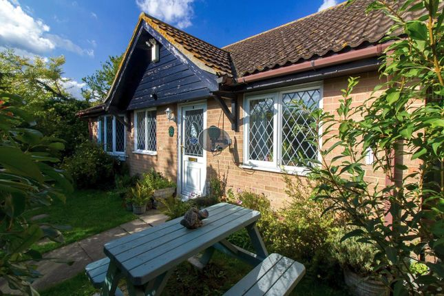 Thumbnail Detached bungalow for sale in Churchill Close, Folkestone