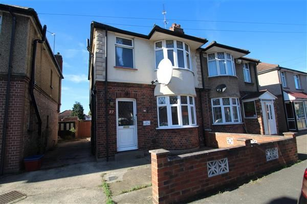 Thumbnail Semi-detached house for sale in Gladstone Avenue, Feltham