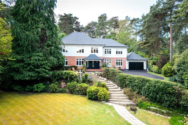 Thumbnail Detached house for sale in Leicester Road, Branksome Park, Poole, Dorset