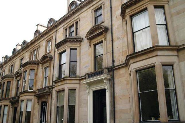 Thumbnail Flat to rent in Belhaven Terrace, Glasgow