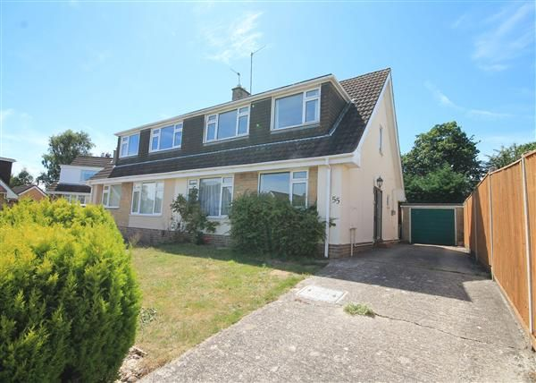 Thumbnail Semi-detached house to rent in South Western Crescent, Parkstone, Poole