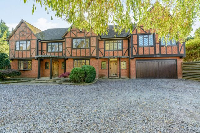 Thumbnail Detached house for sale in London Road, Lichfield, Staffordshire