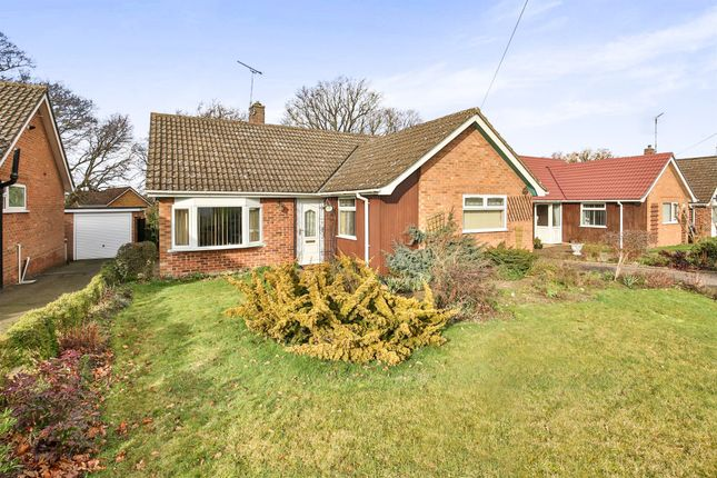 Thumbnail Detached bungalow for sale in Seton Road, Taverham, Norwich