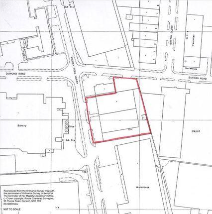 Site Plan of 40-42 Vulcan Road North, Norwich, Norfolk NR6