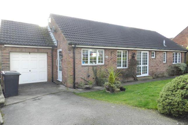 Thumbnail Detached bungalow for sale in Stormont Close, South Normanton, Alfreton, Derbyshire