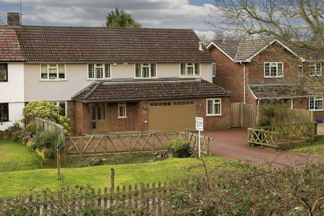 Thumbnail Semi-detached house for sale in Pishiobury Drive, Sawbridgeworth, Hertfordshire