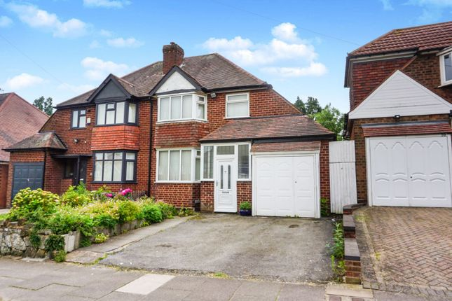 Thumbnail Semi-detached house for sale in Manor House Lane, Birmingham