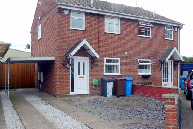 Thumbnail Semi-detached house to rent in Middleham Close, Hull