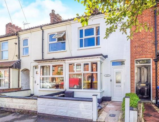Thumbnail Terraced house to rent in Highland Road, Norwich