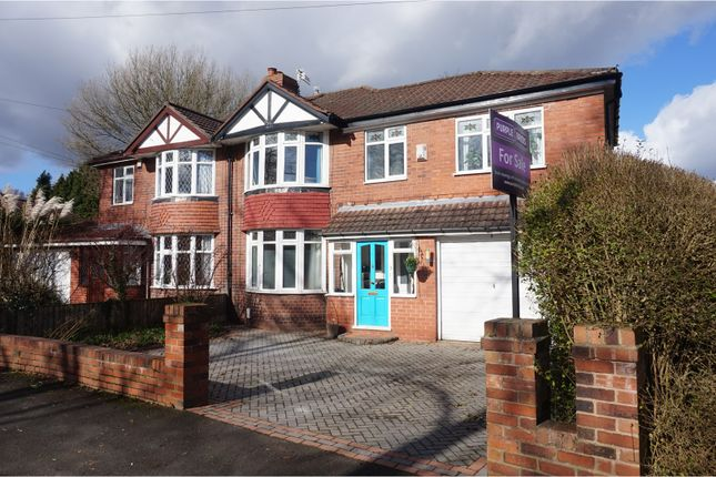 Thumbnail Semi-detached house for sale in Cranleigh Drive, Sale