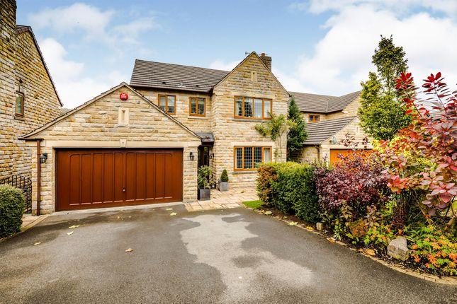 Thumbnail Detached house for sale in Harefield Park, Birkby, Huddersfield