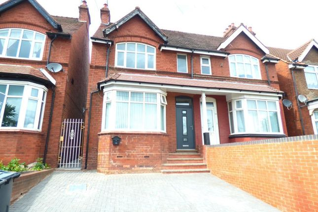 Thumbnail Semi-detached house for sale in Hagley Road, Warley, Birmingham