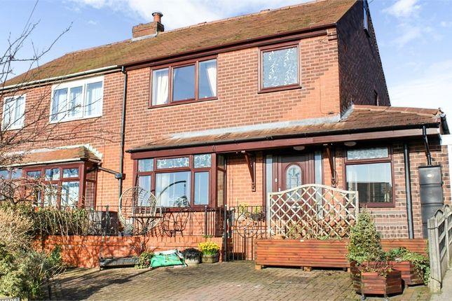 Thumbnail Semi-detached house for sale in Hillside Crescent, Horwich, Bolton, Lancashire