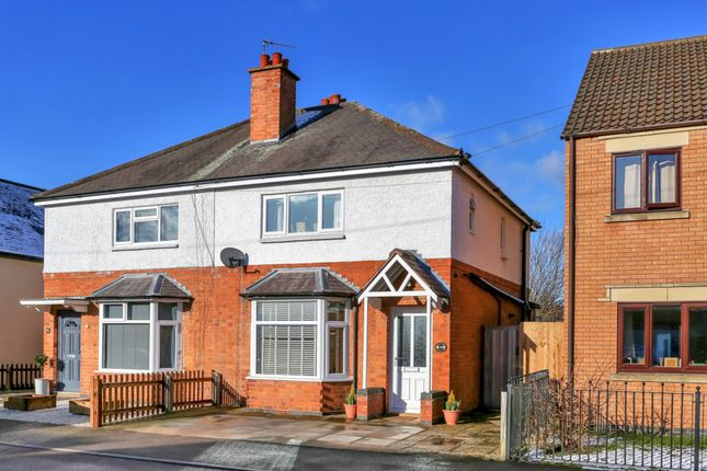 Thumbnail Semi-detached house for sale in Farnham Street, Quorn