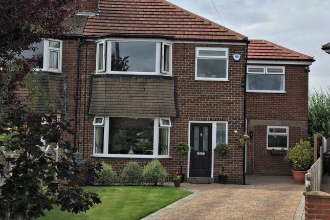 Thumbnail Semi-detached house for sale in Glenholme Road, Farsley